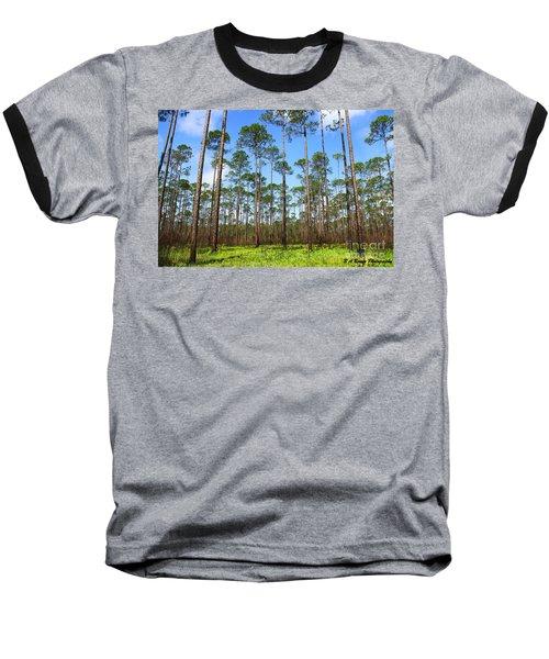 Appalachicola National Forest Baseball T-Shirt