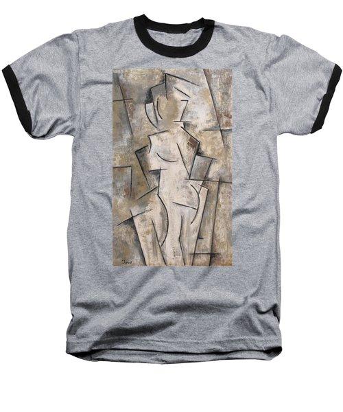 Apparition Baseball T-Shirt by Trish Toro