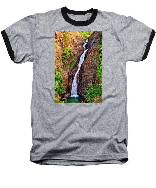 Appistoki Falls Baseball T-Shirt by Greg Norrell
