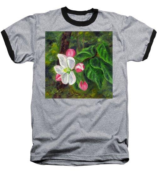 Apple Blossoms Baseball T-Shirt