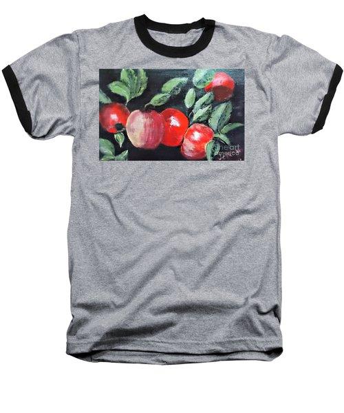 Apple Bunch Baseball T-Shirt by Francine Heykoop