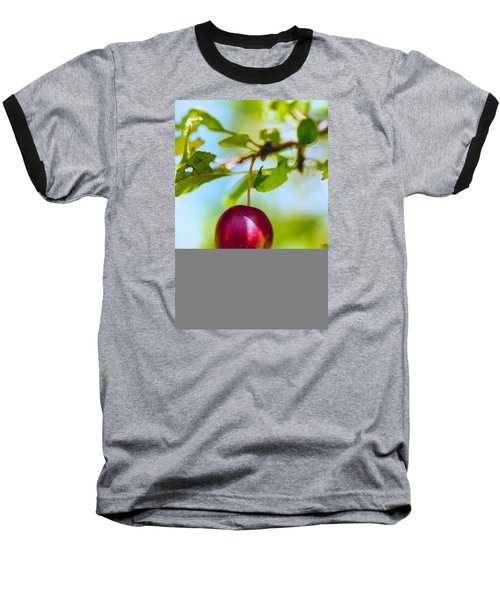 Baseball T-Shirt featuring the photograph  Crab Apple by Constantine Gregory