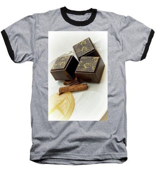Apple Honey Cinnamon Chocolate Baseball T-Shirt
