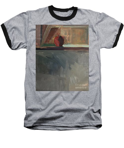 Apple On A Sill Baseball T-Shirt