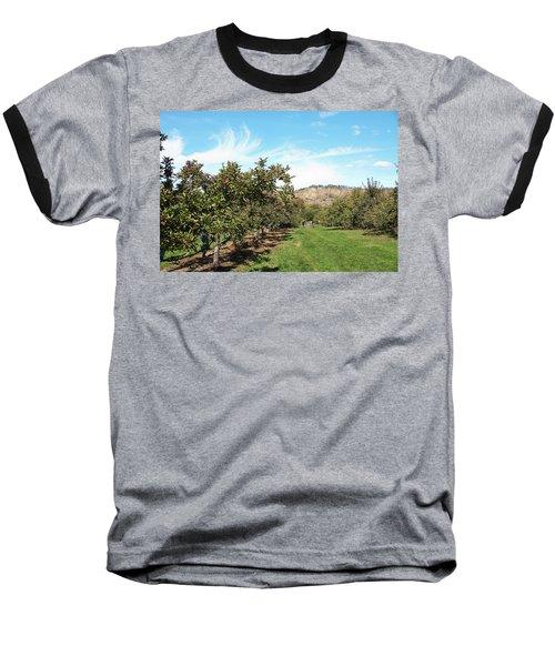 Apple Picking Baseball T-Shirt