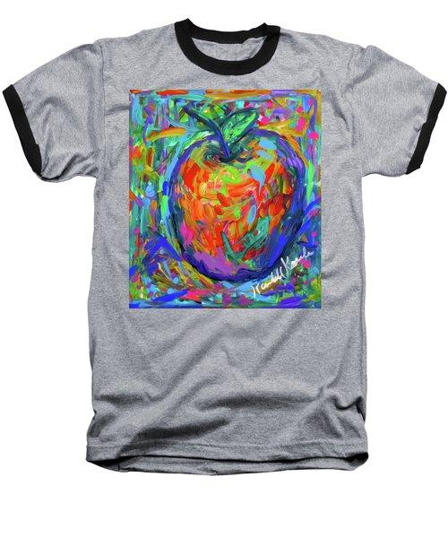 Apple Splash Baseball T-Shirt