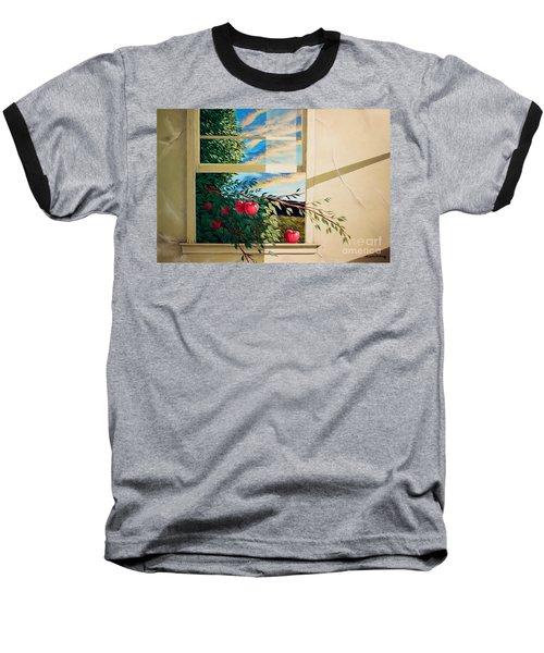 Apple Tree Overflowing Baseball T-Shirt