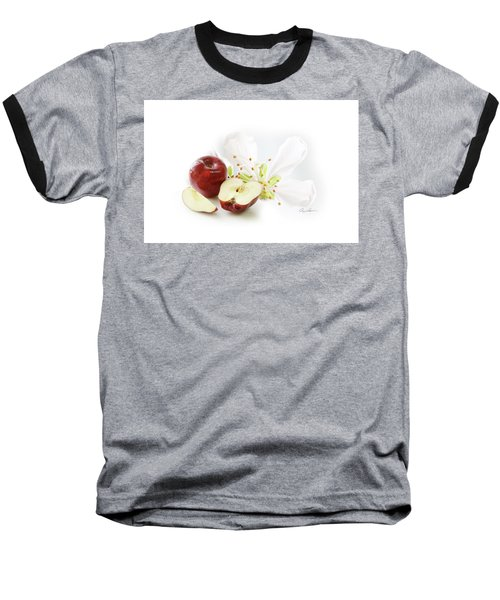 Apples And Blossom Baseball T-Shirt