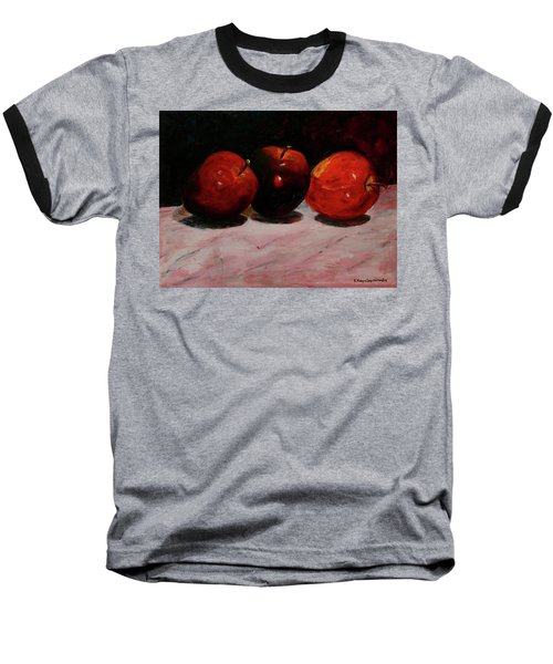 Apples Baseball T-Shirt