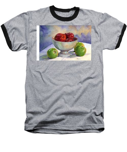 Apples - Yum Baseball T-Shirt
