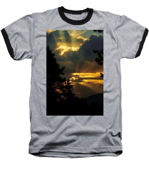 Appreciating Life Baseball T-Shirt by Loni Collins