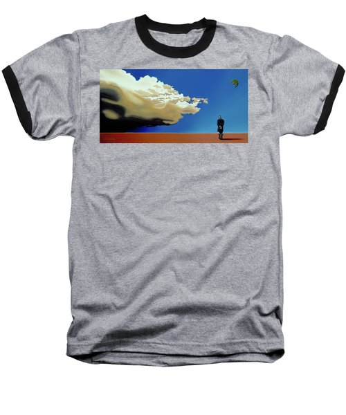 Approaching Storm Baseball T-Shirt