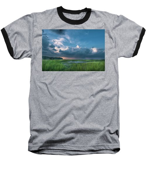 Baseball T-Shirt featuring the photograph Approaching Storm by Phyllis Peterson
