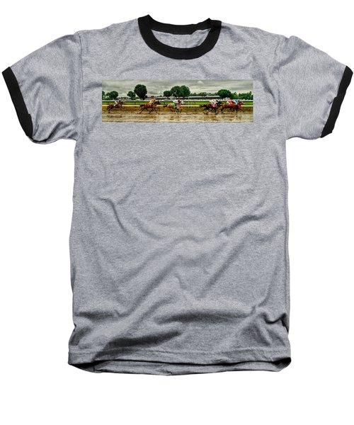 Approaching The Far Turn Baseball T-Shirt