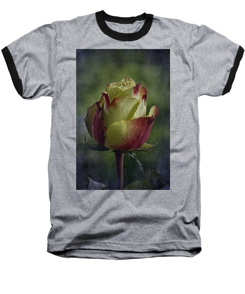 April 2017 Rose - Inspired By Emerson Baseball T-Shirt by Richard Cummings