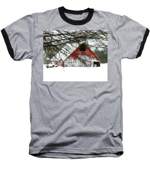 April Blizzard Baseball T-Shirt