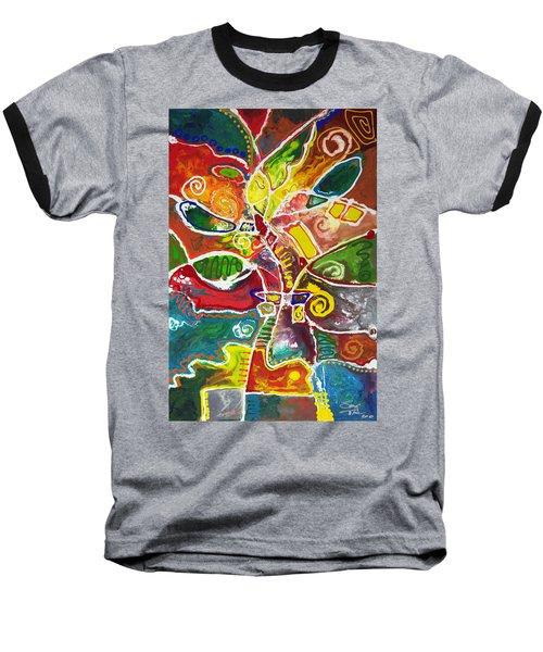 April Bouquet Baseball T-Shirt