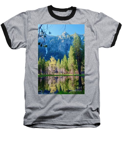 April Reflection Baseball T-Shirt