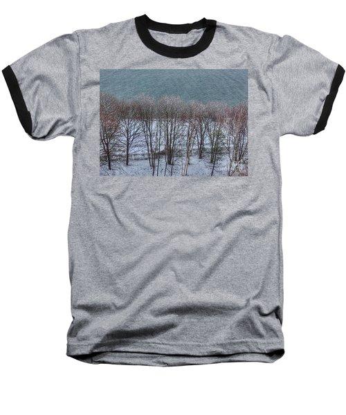 April Snow On Portland Trails Baseball T-Shirt