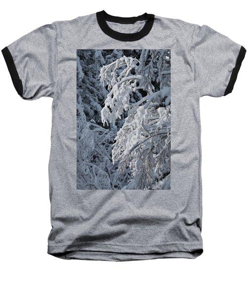April Snow Baseball T-Shirt