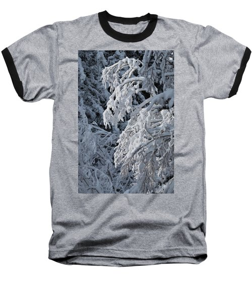 April Snow Baseball T-Shirt