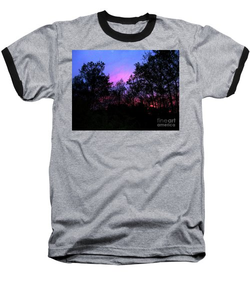 April Sunset Baseball T-Shirt