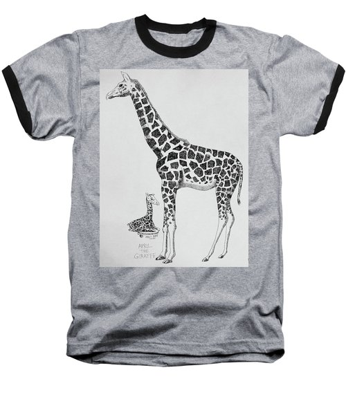 April The Giraffe Baseball T-Shirt