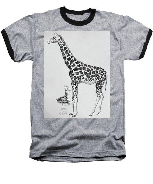 April The Giraffe Baseball T-Shirt