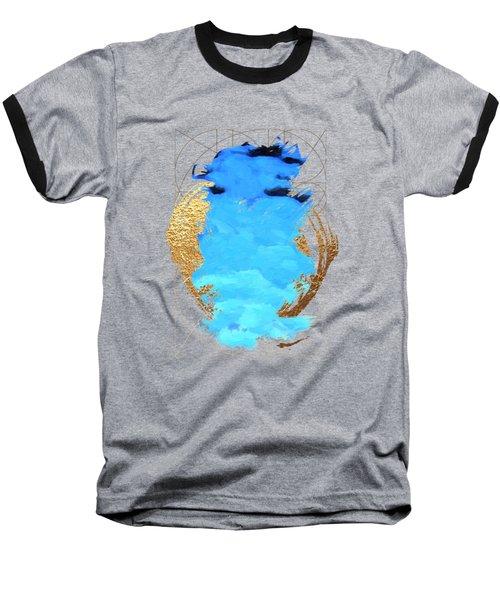 Aqua Gold No. 1 Baseball T-Shirt