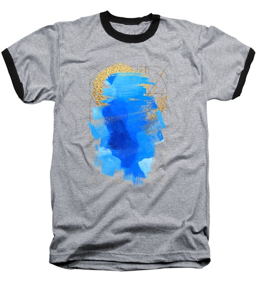Aqua Gold No. 3 Baseball T-Shirt