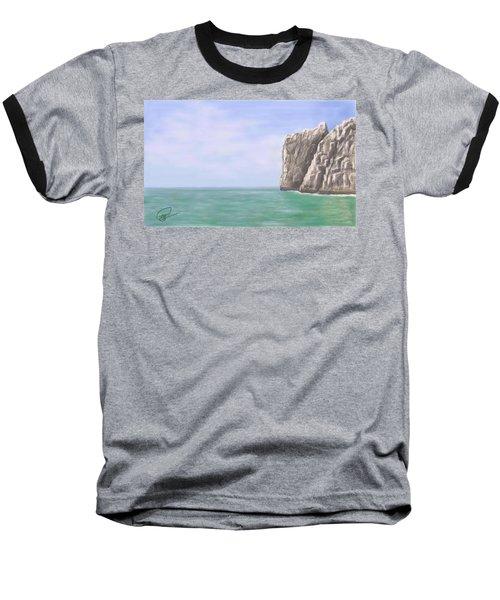 Aqua Sea Baseball T-Shirt