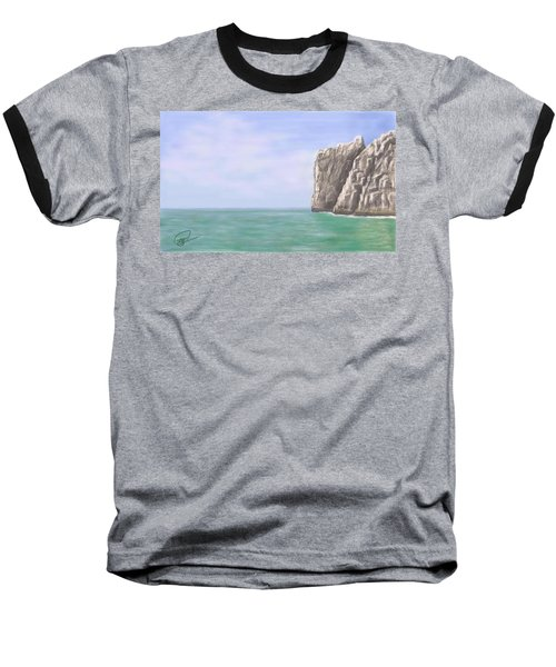 Aqua Sea Baseball T-Shirt