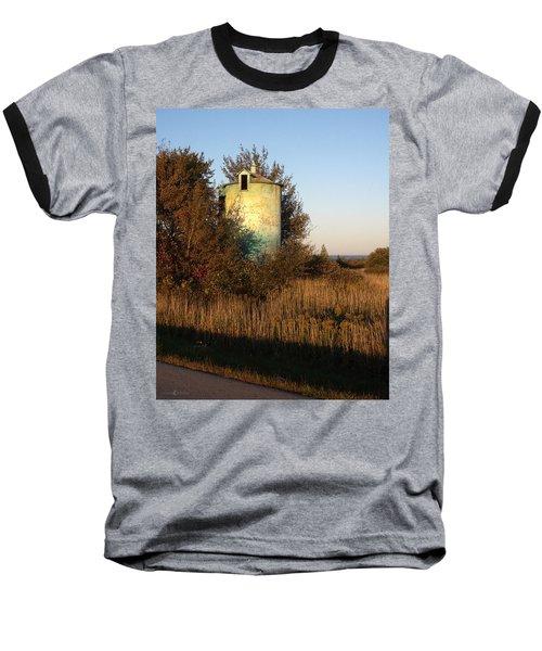 Aqua Silo Baseball T-Shirt