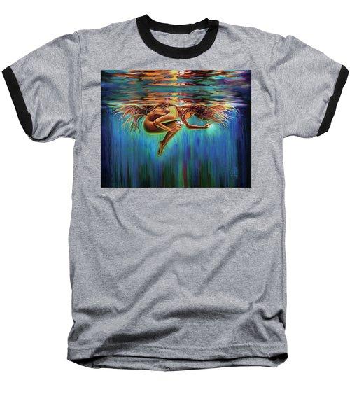 Aquarian Rebirth II Divine Feminine Consciousness Awakening Baseball T-Shirt