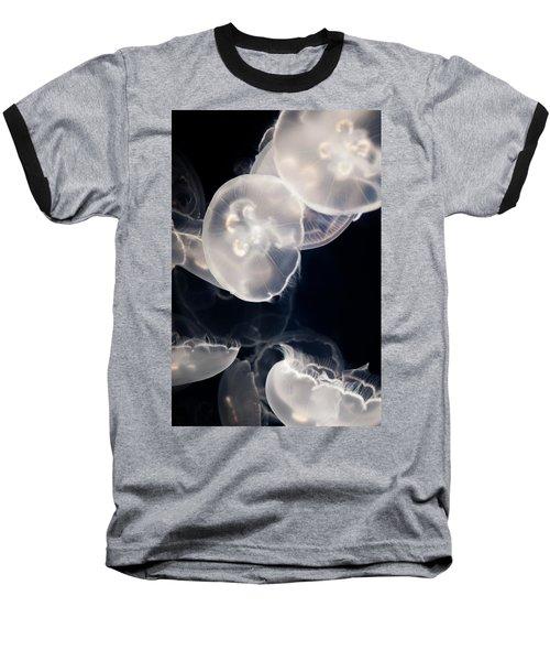 Aquarium Of The Pacific Jumping Jellies Baseball T-Shirt