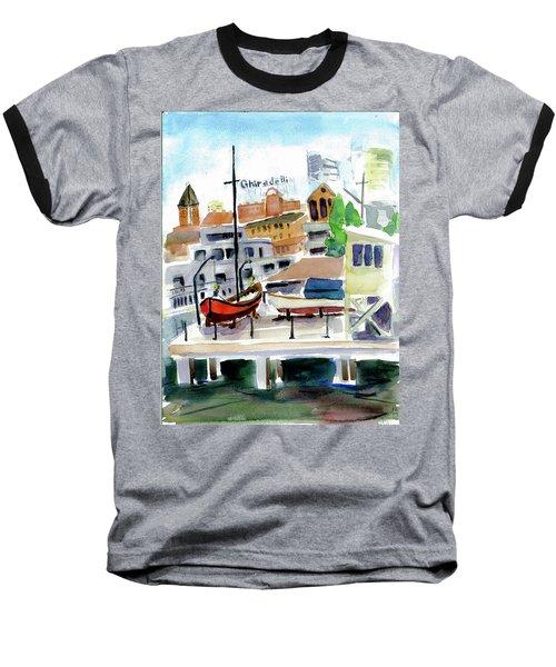Aquatic Park1 Baseball T-Shirt by Tom Simmons