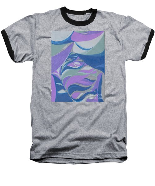 Baseball T-Shirt featuring the drawing Aqueous by Kim Sy Ok