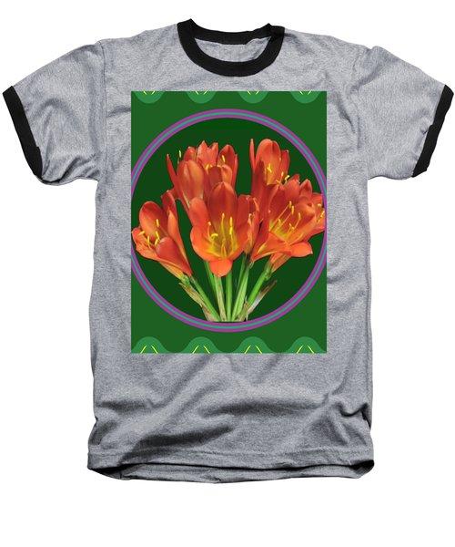Aquilegia Formosa Flower Floral Photography N Graphic Fusion Art Navinjoshi Fineartamerica Pixels Baseball T-Shirt