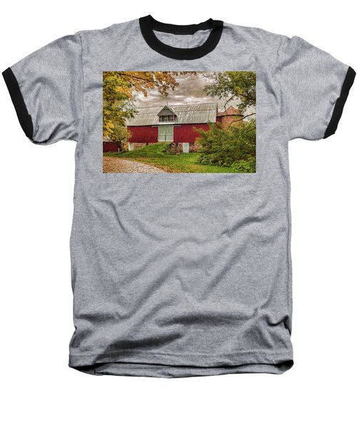 A.r. Potts Barn Baseball T-Shirt by Trey Foerster