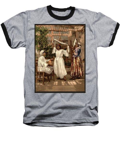Arab Dancing Girls - Remastered Baseball T-Shirt