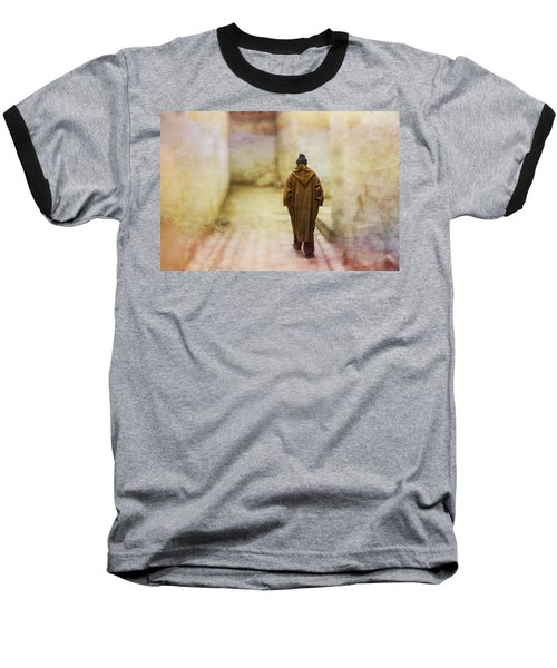 Arab Man Walking - Morocco 2 Baseball T-Shirt