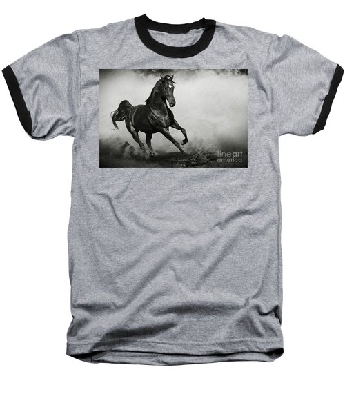 Arabian Horse Baseball T-Shirt
