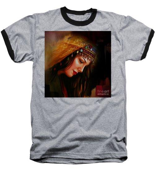 Arabian Woman 043b Baseball T-Shirt by Gull G