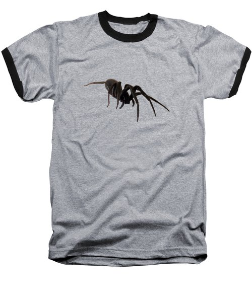 Baseball T-Shirt featuring the photograph Arachne Noire by Marc Philippe Joly