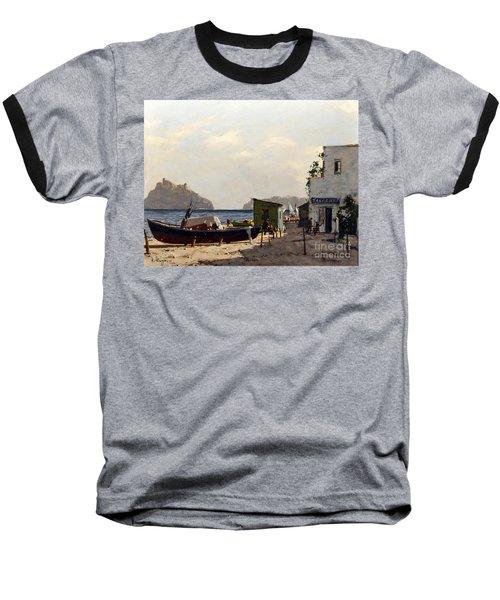 Aragonese's Castle - Island Of Ischia Baseball T-Shirt