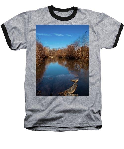 Ararat River Baseball T-Shirt by Randy Sylvia