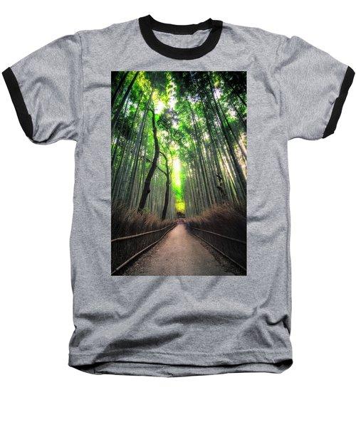 Arashiyama In Kyoto, Japan Baseball T-Shirt