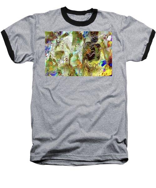 Arbitrary Color Opticality Baseball T-Shirt