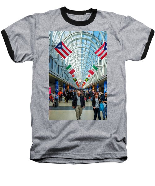 Arcade Of Flags Baseball T-Shirt