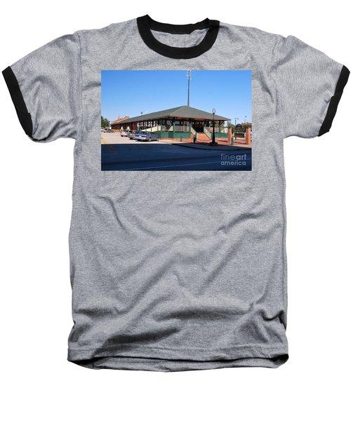 Arcadia Train Station Baseball T-Shirt